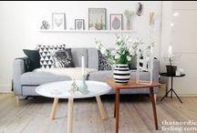 Scandinavian Livingroom / Scandinavian Interior, Nordic Living, Livingroom