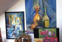 Arte, cuadros / Cuadros al oleo y acrílicos realizados por Nana andrade