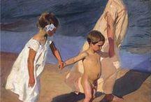 Sorolla, pintor, / obras interesantes de Sorolla, todo luz y color
