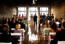 Ceremony / The Burroughes - Wedding Ceremony Set-Up