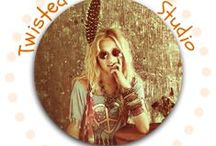 Twisted Hippie Studios Designs / Handcrafted jewelry with wire, sheet metal and findings. A Little Hippie with a Twist