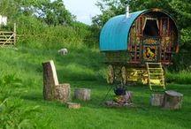 holidays / Take a blissful retreat to our wonderful gypsy caravan.