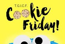 Bake to the roots: Cookie Friday! / All the delicious cookie recipes from my weekly #cookiefriday #tgicf ;)