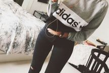 Nike and Adidas / Cute clothes from Nike and Adidas