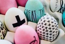 Easter Decorations & Ideas / If you are looking for decoration ideas for your Easter celebration you are in the right spot - it's all about flowers, eggs and chicken ;)