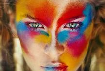 Inspirations - Colorful portraits