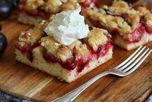 Blechkuchen / Tray bakes / Manchmal braucht man etwas mehr Kuchen - dann ist ein Kuchen vom Blech genau das richtige!