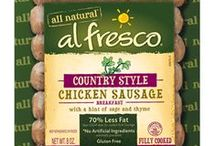 al fresco Flavors / Browse all of al fresco all natural's chicken sausage and meatballs offerings. Which one are you taking home tonight?  / by al fresco all natural