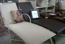 Aluminium Furniture / Aluminium range with synthetic weave