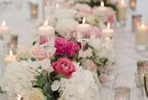 Wedding flowers and table ideas / Looking at different ideas for bouquets, table centres, large floral displays for your wedding