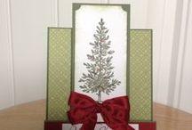 Weihnachten christmas ideas / Schöne Weihnachtskarten und anderes von Stampin' Up!