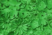 about green........
