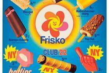 Frisko is / Gammelt ismenukort