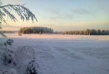 Talvi Winter in Finland