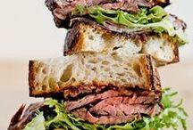 Sandwiches + Burgers + Wraps