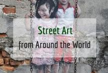 Street Art / We love street art! Here's a collection of some great street art from around the world.