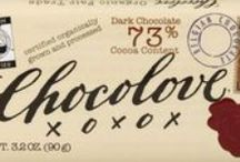 Our Products / Chocolove's premium chocolate flavors and products.