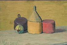 """Giorgio Morandi / """"Pour moi il n'y a rien d'abstrait ; par ailleurs, je pense qu'il n'y a rien de plus surréel, et rien de plus abstrait que le réel."""" Giorgio Morandi"""
