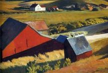 """Edward Hopper /  """"No amount of skillful invention can replace the essential element of imagination.""""  Edward Hopper"""