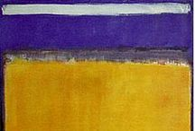 """Mark Rothko / """"It is really a matter of ending this silence and solitude, of breathing and stretching one's arms again.""""  Mark Rothko"""