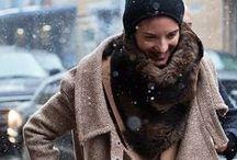 Winter outfits / Scarfs, turtkenecks, gloves, coats, bennies, etc.
