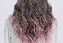 TREND: Dip Dyed Hair