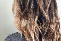 TREND: Ecaille Hair / Ecaille Hair Colour is derived from the French word for Tortoiseshell. This colour trend is a similar to Sombre and Babylights, a soft balayage technique.