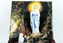 Icônes catholiques sacrée en céramique by TerryTiles2014 / Icônes catholiques sacrée en céramique by TerryTiles2014