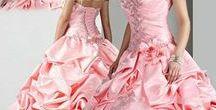 Bride pink / abiti da sposa dalle varie tonalità di colore rosa