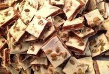 Toffee / Artisan Toffee, Candied Nuts and Chocolates made with all-natural ingredients! www.sweepspantry.com