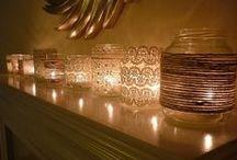 Valoa ja kynttilöitä / Light and candles