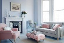 Pantone Colours of the Year 2016 / The Pantone colour of the year is always on our radar. Pantone has established themselves as such a strong influencer of colour that this yearly announcement always sets the stage for trends to follow. This year, Pantone shocked everyone by releasing two colours– Rose Quartz & Serenity.