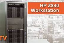HP Workstations / This board features images and video overviews of HP workstations. All products are in stock and available for next-day shipping through IT Creations.