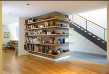 Inspirational Storage / Unusual storage ideas for storing the clutter of modern life.