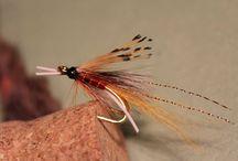 Flyes_Salmon Flyes / Perhot / Flyes_few own Salmon Flyes