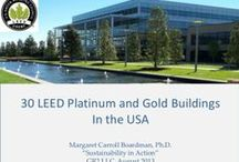 | LEED | / LEED - Leadership in Energy & Environmental Design.  A green building certification program that recognizes best-in-class building strategies and practices