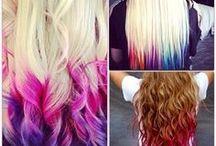 ideas para teñirse el pelo / ideas to dye her hair