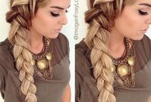 Hairstyles,makeup and all pretty little things