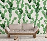 Cactus Decor / If you love the idea of using houseplants in your home decor, but are out of windowsill space? Cacti themed home decor should do the trick. These pieces exude personality and offer that Southwest-chic vibe that makes your home feel relaxed and inviting. http://empirecommunities.com/trend-alert-cactus-decor/