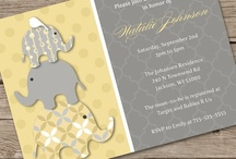 Yellow & Gray Elephants