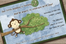 Playful Monkey Birthday