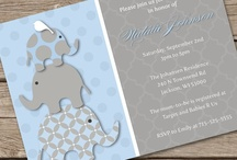 Blue & Gray Elephants