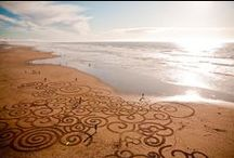 amazing sand art! / Incredible art created by a rake and sand