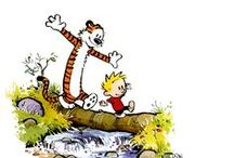Calvin & Hobbes / I guess you can call Calvin and Hobbes my childhood.   / by TJ Jackson