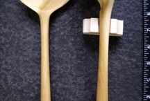Carved wooden spoons and such / by Jerry Wooden
