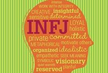 INFJ / Introverted, Intuitive, Feeling and Judging. INFJs are known to be great listeners, big dreamers, and deep, complex people.  http://www.leadwithconfidence.com/