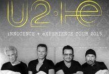 U2 / U2 est un groupe de rock irlandais formé en 1976 à Dublin. Il est composé de Bono au chant, à la guitare et au piano,  The Edge à la guitare, au piano et au chant, Adam Clayton à la basse et Larry Mullen Jr. à la batterie.