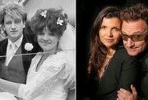 Bono & Ali / Bono & Ali Hewson mariés depuis le 21 août 1982  Ali & Bono