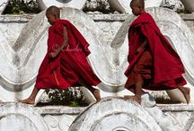 Monaci buddisti / by Silvana