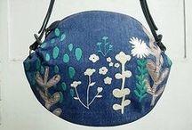 Embroidery bag / Embroidery bag 刺繍バッグ